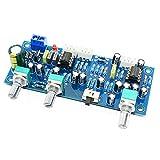 OIUY 2.1 canaux subwoofer préampli Carte Filtre Passe-Bas préampli amplificateur Carte Filtre Passe-Bas préamplificateur Basse NE5532