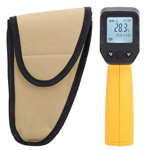 Pistola de termómetro infrarrojo, -50 ℃ -550 ℃ (-58 ℉ -1022 ℉) Medidor de temperatura digital infrarrojo sin contacto, medidor de infrarrojos Temperatura del termómetro para procesamiento de alimentos