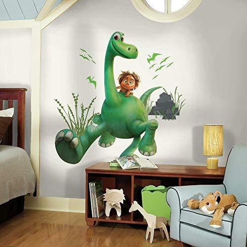 Roommates Rmk3120Gm Arlo The Good Dinosauro Attacca E Stacca Giganti Da Parete, 68,58 Cm X (27 83,82 (33 Cm