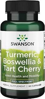 Swanson Full Spectrum Turmeric Boswellia & Tart Cherry 60 Capsules