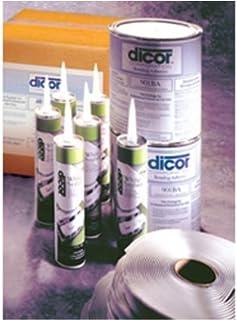 "Dicor 95B4035 Brite-Ply 9'6"" x 35' Roofing"