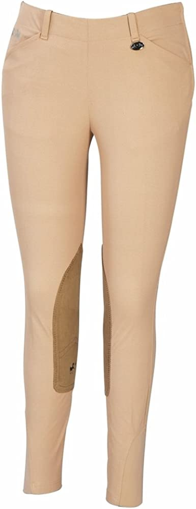 Equine Couture Women's Coolmax Champion Zip Breech Side with Eur New York Mall Gifts