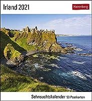 Irland 2021: Sehnsuchtskalender, 53 Postkarten