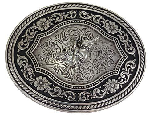 Nocona Antique Bullrider Gürtelschnalle Western Buckle Cowboy USA