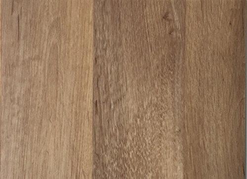 PVC-Bodenbelag XL Holzdielenoptik Braun Strukturiert | Vinylboden in 4m Breite & 2,5m Länge| Fußbodenheizung geeignet e PVC Planken | Stark strapazierfähiger Fußboden-Belag | Made in Germany