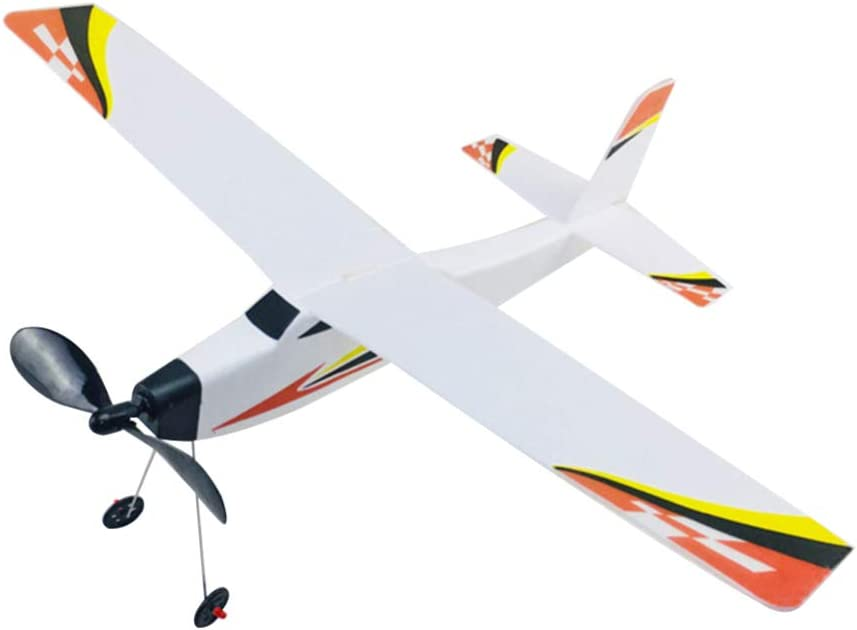 NUOBESTY Model At the price Foam Toy OFFicial shop DIY Aircraft Band Assembl Powered Rubber