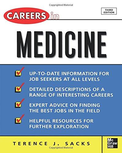 Careers in Medicine, 3rd ed. (Careers in…Series)