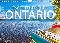 Facettenreiches Ontario (Wandkalender 2022 DIN A4 quer): Hanna Wagner zeigt Monat fuer Monat die beeindruckende Vielfalt der ostkanadischen Provinz Ontario. (Monatskalender, 14 Seiten )