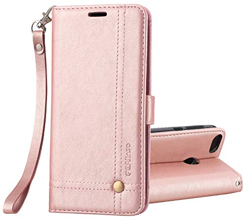 Custodia Xiaomi Mi 5X / Xiaomi Mi A1 Cover, Ferlinso Cover pelle elegante retrò con Custodia Slot Holder per carta...