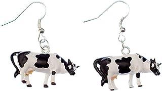 boucle d'oreille vache