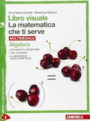 Libro visuale la matematica che ti serve. Algebra-Geometria 3. Per la Scuola media. Con e-book. Con espansione online