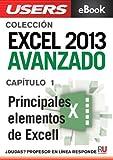 Excel 2013 Avanzado: Principales elementos de Excel (Colección Excel 2013 Avanzado nº 1)