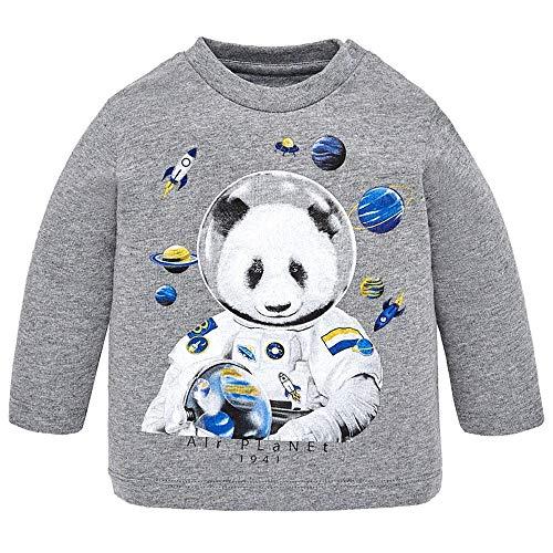 Mayoral Camiseta Panda m/l Bebe Niño 12-36 Meses (12 Meses)