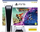 PS5 Consola Sony PlayStation 5 - Standard Edition, 825 GB, 4K, HDR (con lector de disco) + Ratchet & Clank: Rift Apart [Playstation 5]