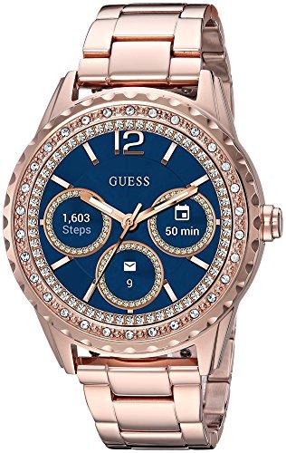 GUESS Reloj Digital para Mujeres de con Correa en Acero Inoxidable C1003L4