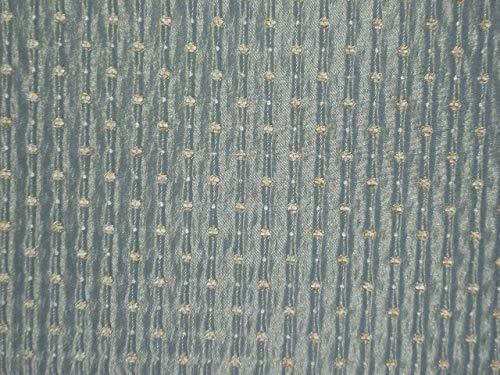 Generico Tessuto Stoffa per Arredamento.TAPPEZZERIA di SEDIE,POLTRONE,DIVANI E Hobby CREATIVI.Disponibile al Metro in H140.Tessuto Brillante con Puntino in CINIGLIA.(BANDOS) (Avio)