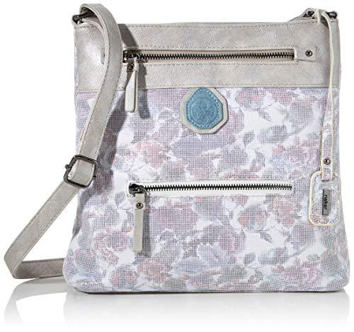 Rieker Damen Handtasche H1302, Mehrfarbig (Weiss-Multi/Frost), 280x50x280 cm