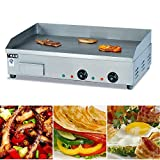 4400W BBQ Electric Countertop Griddle Flat Top Commercial Restaurant Food Griddle Grill Plate