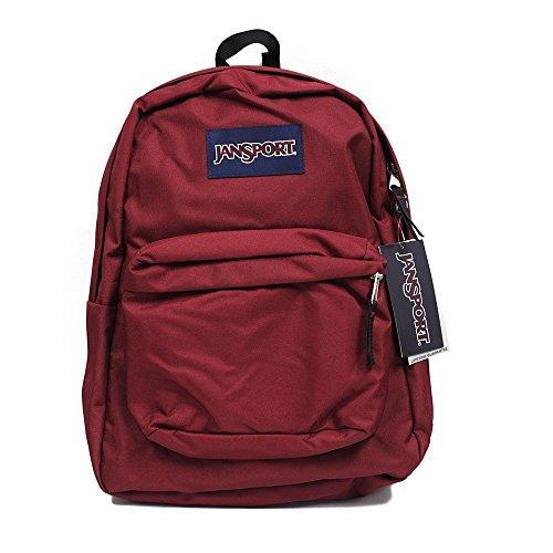 JANSPORT unisex-adulto (equipaje Superbreak Mochila Escolar Original Select Color: Rojo Vikingo, 1550 pulgadas cúbicos