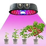 1100W crece la luz, la planta 44pcs LED dual Perilla de control de luz Crecimiento, Fill mazorca planta de luz y sistema de disipación de calor de gran alcance para las plantas de interior flor