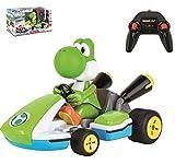 Carrera- 2,4GHz Mario Kart, Yoshi Nintendo Coche de Juquete con Control Remoto, Multicolor (Stadlbauer 370162108)