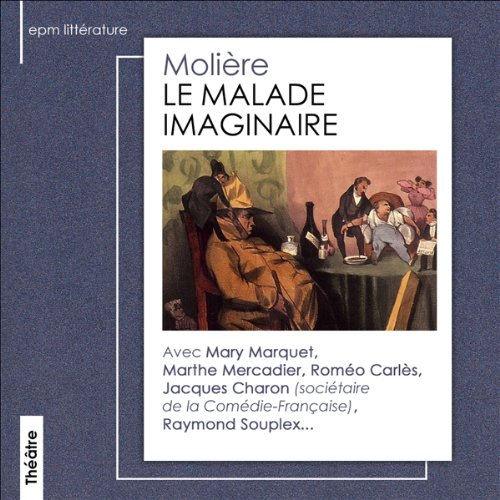 Le Malade Imaginaire audiobook cover art