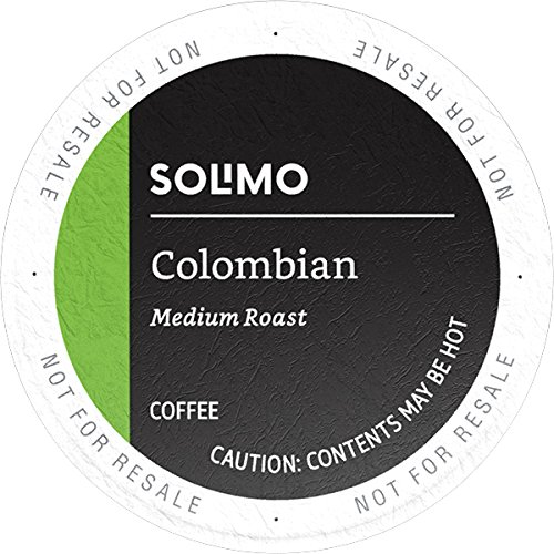Our #7 Pick is the Amazon Brand 100 Ct. Solimo Medium Roast Colombian Coffee Pods
