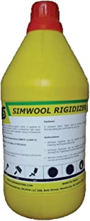 Simwool Rigidizer - Coating for Ceramic Fiber Blanket - 1 Gallon