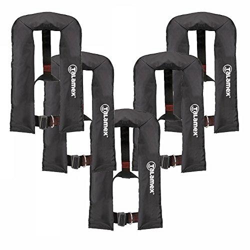 Talamex® reddingsvest Besto zwart, automatisch - 150N zwart met Lifebelt