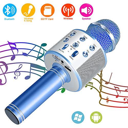 SunTop Micrófono Inalámbrico Karaoke Bluetooth