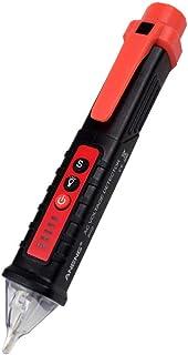 Tihokile Probador de Voltaje sin Contacto, Electroscopio Inteligente de Alta Precisión Voltaje Sensibilidad Ajustable 12V ...