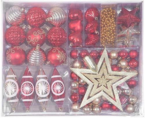 Bolas navideñas Adornos Colgantes Arbol de Navidad inastillable Colgantes Bolas Fiesta Suministros para Banquetes de Boda Adornos Regalos Hogar Festival Decoración Navidad