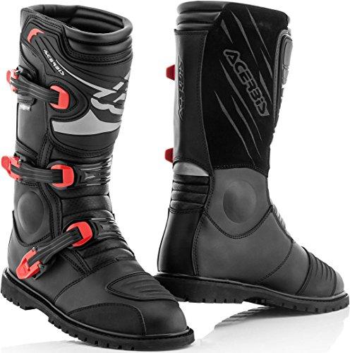 Acerbis 0022200.090.041 Adventure Stiefel Schwarz T.41