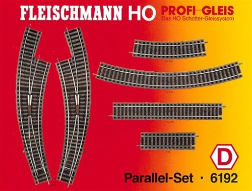 Fleischmann 6192 - Profi Gleis - Parallel-Set