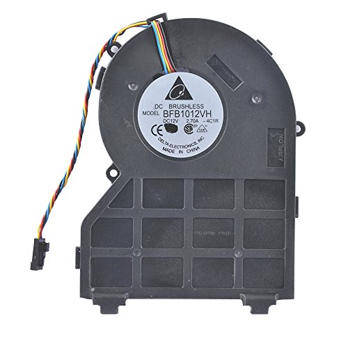 Eathtek Replacement SFF Small Chassis Fan for Dell 390 790 990 PVB120G12H-P01 0J50GH 0637NC series