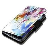 Book Style Flip Handy Tasche Hülle Schutz Hülle Schale Motiv Foto Etui für Wiko Darkmoon - A36 Design11