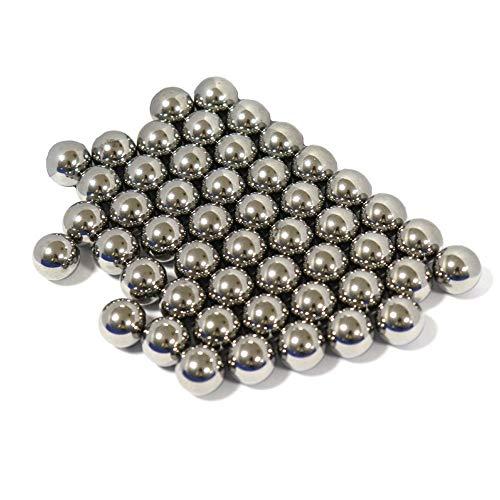 50 Stück 12 mm 0,47 Zoll Stahlkugeln für Fahrrad