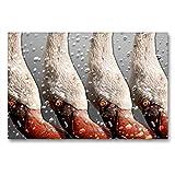 Premium - Lienzo de lienzo (90 cm x 60 cm, horizontal, diseño de calendario emocionales)
