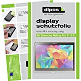 dipos I 3X Schutzfolie matt kompatibel mit Samsung Galaxy Tab S T800 / T805 (10,5 Zoll) Folie Bildschirmschutzfolie