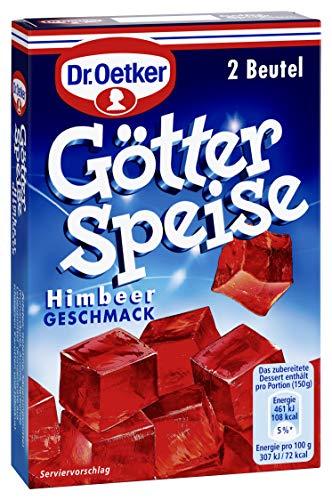 Dr. Oetker Götterspeise Himbeer-Geschmack, 25 g