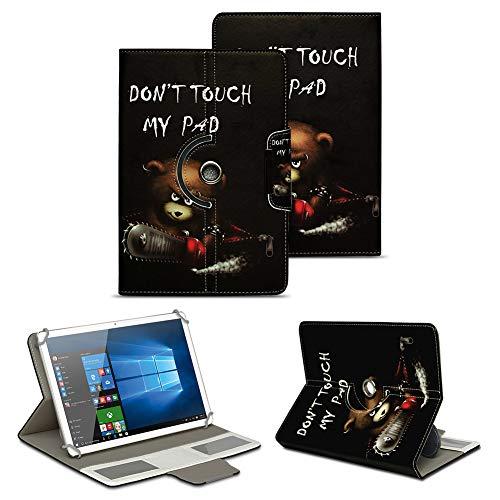 NAUC Schutz Hülle für XORO TelePAD 10A3 Tablet Tasche Schutzhülle Hülle Cover Bag, Motiv:Motiv 8