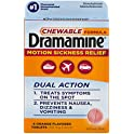 4-Count Dramamine Motion Sickness Relief Chewable Formula