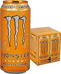 Monster Energy, Ultra Sunrise, 16 fl oz, 4 Pack