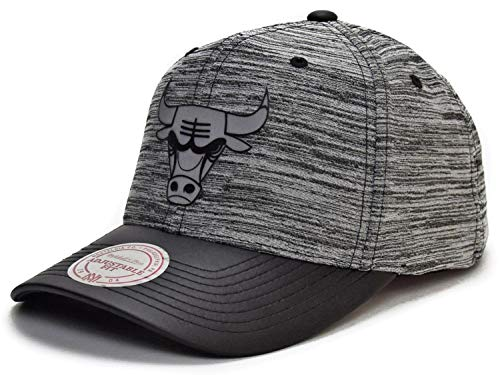 Mitchell & Ness Chicago Bulls Swish Grey/Black Adjustable