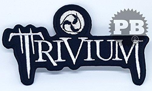 Trivium Heavy Metal Punk Rock bordado Sew de hierro en parche