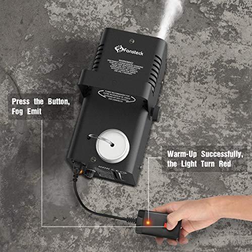 Fansteck Mini Nebelmaschine 400W Erfahrungen & Preisvergleich