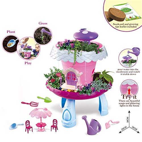 Advanced Play Garden Kit Kids Gardening Set Indoor Outdoor Play Activity Tool