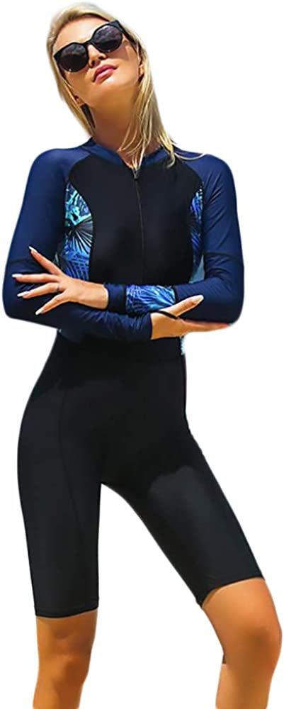 TeeYee Women Super sale period limited Girls Long Sleeve Suit Boyleg Swimsui Padded Diving Sales of SALE items from new works