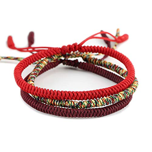 Men Women Chinese Lucky Red String Bracelet...