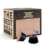 Note d'Espresso Italiano - Cápsulas de Café Cortado Instantáneo, Compatibles con cafeteras de cápsulas Nescafé, Dolce Gusto, 48 unidades de da 6,3g, Total: 302.4 g